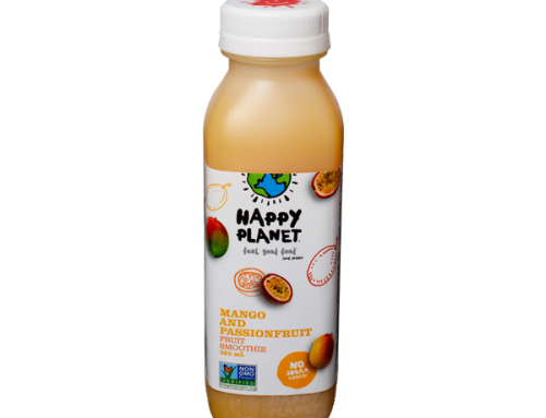 Happy Planet Smoothies – Mango & Passionfruit