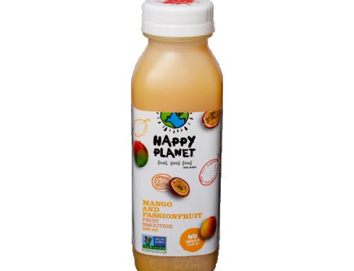 Happy Planet Smoothies – Mango & Passionfruit