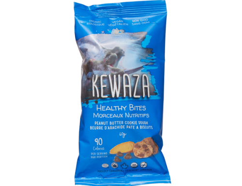 Kewaza Healthy Bites – Peanut Butter Cookie Dough