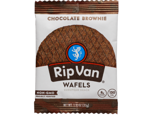 Rip Van Wafels – Chocolate Brownie