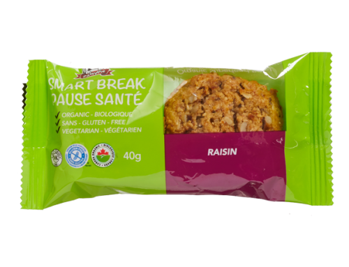 PatsyPie Smart Break Superfood Bites – Raisin