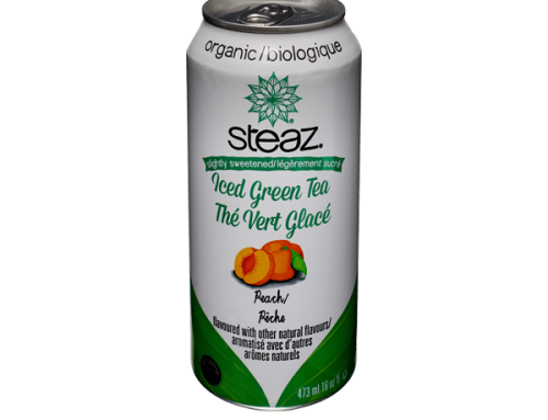 Steaz Iced Green Tea – Peach