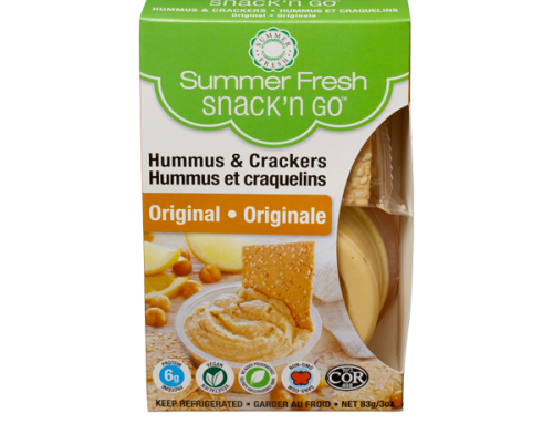 SummerFresh Hummus & Crackers