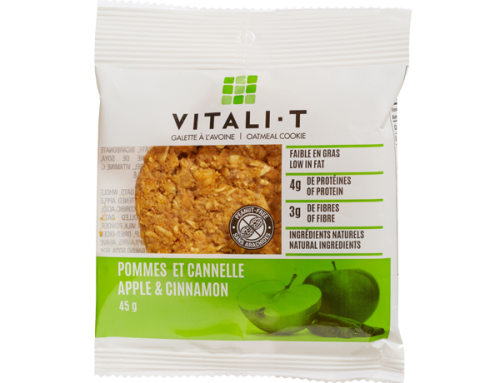 Vitali-T Oatmeal Cookie – Apple & Cinnamon