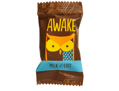 Awake Caffeinated Chocolate – Milk Bites