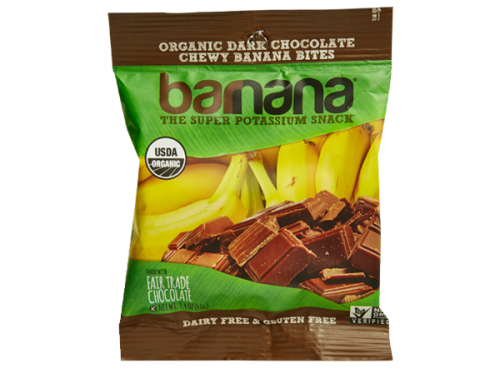 Barnana Organic Banana Bites – Dark Chocolate