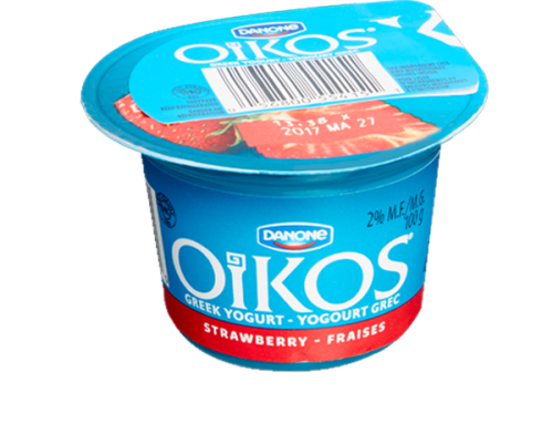 Danone Oikos Low Fat Greek Yogurt – Strawberry