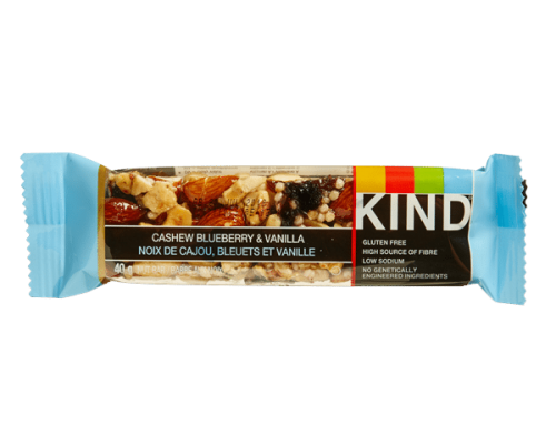 KIND Bar – Cashew Blueberry & Vanilla