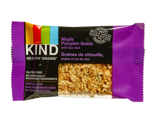 KIND Grain Bars – Maple Pumpkin Seeds w/ Sea Salt
