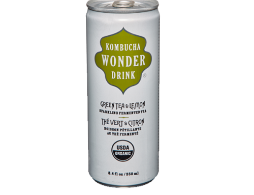 Wonder Kombucha – Green Tea & Lemon