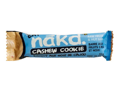 Nakd Bars – Cashew Cookie