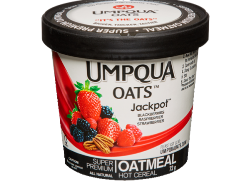 Umpqua All Natural Instant Oatmeal – Jackpot