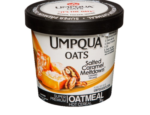 Umpqua All Natural Instant Oatmeal – Salted Caramel