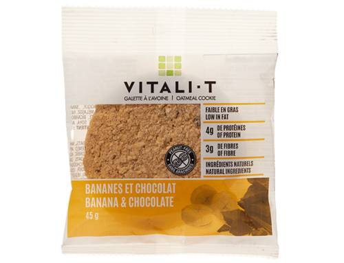 Vitali-T Oatmeal Cookie – Banana Chocolate