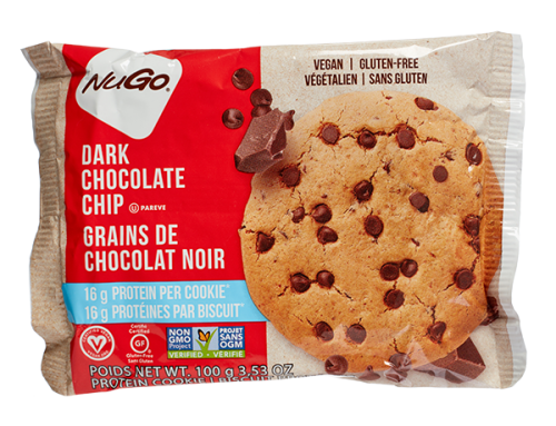 Nugo Protein Cookies – Dark Chocolate Chip