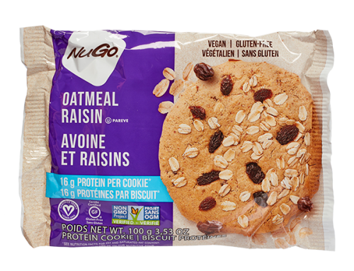 Nugo Protein Cookies – Oatmeal Raisin