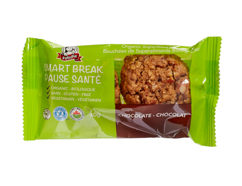 PatsyPie Smart Break Superfood Bites – Chocolate